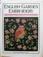 Loisirs  Créatifs  Points De Croix  English Garden Embroidery ( Stafford Whiteaker) 144 Pages - Bricolage