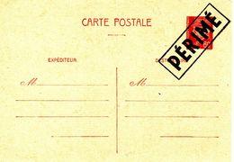 """Type PETAIN - CP 80c  Avec Griffe """"PERIME"""" (depuis Le 1/11/44 Tous Les Timbres à L'effigie De Pétain Sont Démonétisés) - 1941-42 Pétain"""