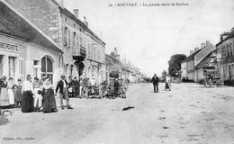 ROUVRAY La Grande Route De Saulieu (782) - Autres Communes