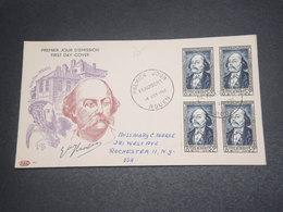 FRANCE - Enveloppe FDC De Flaubert En 1952 Pour Les Etats Unis - L 12393 - FDC