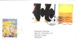 Lettre Récente Des Etats-Unis.  Thème Peinture Moderne! - Poststempel