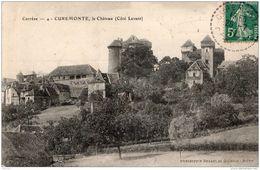 """Cachet Perlé Facteur Boitier """"Curemonte Correze 1911"""" Semeuse Pour Cestas (Gironde) - Marcophilie (Lettres)"""
