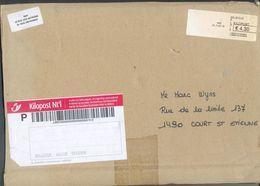 Carton D'envoi Avec Timbre KILOPOST Nt.1 31-7-2007 De GRIVEGNEE LIEGE Vers Court-Saint-Etienne - 12401 - Non Classificati
