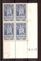 Coin Daté 1938 Du N° 399 - Neuf ** - Cathédrale De Reims - 1930-1939