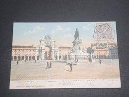 PORTUGAL - Oblitération De Lisbonne En 1905 Sur Carte Postale Pour La France - L 12399 - Lettres & Documents