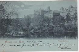 LETTONIE 1899 CARTE POSTALE DE RIGA -POLYTECHNIKUM - Lettonie