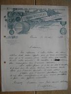 Lettre Illustrée 1927 CHINON - HENRI VAZEREAU - Entreprise De Greffage Et Plantations - France