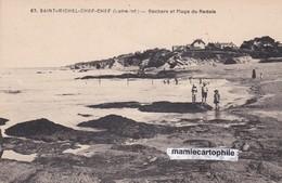 ST MICHEL CHEF CHEF - Loire Atlantique  - Rochers Et Plage Du Redois - CPA - Saint-Michel-Chef-Chef