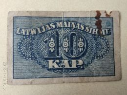 10 Kapeikas 1920 - Lettonia