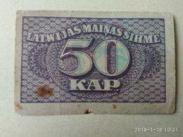 50 Kapeikas 1920 - Lettonia
