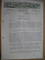Lettre 1938 DUSSELDORF- CHEMNITZ-SIEGMAR - ROTTERDAM - JAGENBERG-WERKE - Fabricant De Machines Pour Industrie Du Papier - Allemagne