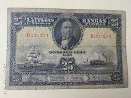 25 Latu 1928 - Lettonia