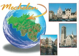 Mechelen Malines - Grote Markt - Haverwerf  - St.-Romboutskathedraal - Malines