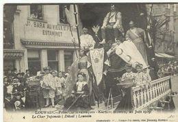 Louvain Karnavalfeesten 20 Juin 1909 Le Char Japonais  (6949) - Leuven