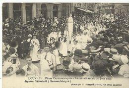 Louvain Karnavalfeesten 20 Juin 1909 Sigaren Nijverheid (Geraardsbergen)  (6950) - Leuven