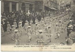 Louvain Karnavalfeesten 20 Juin 1909 Les Kimokos Japonais,entrée Triomphale à Tokio  (6951) - Leuven