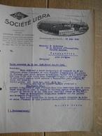 Brief 1925 - GLIESMARODE-BRUNSWICK - SOCIETE LIBRA -Fabrique De Balances - Germany