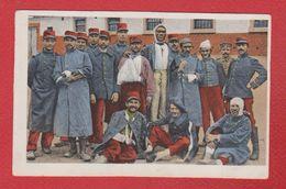 Gefangene Franzosen - War 1914-18