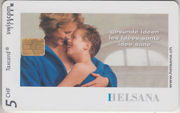 SUISSE - PHONE CARD - ° TAXCARD-PRIVÉE - CHIP KC 2000  ***  ASSURANCE  HELSANA  *** - Switzerland
