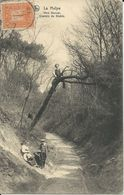 La Hulpe    Vers Genval.   -   Chemin Du Diable   -   1913  Naar  Woluwe - La Hulpe