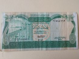 1/2 Dinar 1981 - Libia
