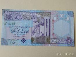1/2 Dinar 2002 - Libia