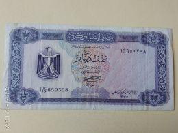 1/2 Dinar 1972 - Libia