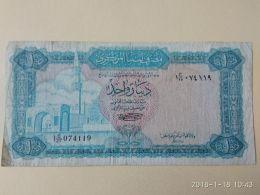 1 Dinar 1972 - Libia