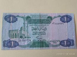 1 Dinar 1984 - Libia