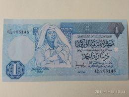 1 Dinar 1991-93 - Libia
