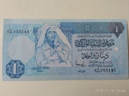 1 Dinar 1991-93 - Libya