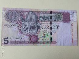 5 Dinar 2004 - Libia