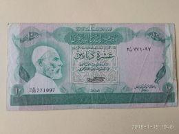 10 Dinar 1980 - Libya