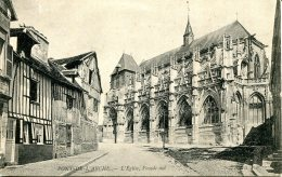 CPA -  PONT-DE-L'ARCHE - L'EGLISE, FACADE SUD - Pont-de-l'Arche