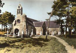 CPSM  -  Environs De CALLAC  (22)  Eglise De Burtulet En Saint Servais - Callac