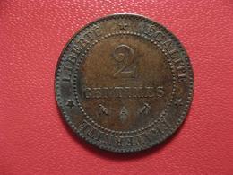 2 Centimes Cérès 1893 A Paris 4502 - Francia