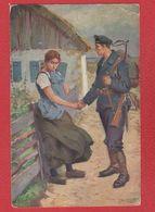 Wohlfahrsarte - War 1914-18