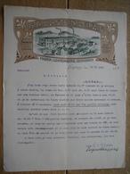 Brief 1906 STYLE ART NOUVEAU - JUGENDSTIL - LEIPZIG - LICHTENBERG - H. H. ULLSTEIN - Editor-Drucker - Allemagne
