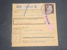 ALLEMAGNE - Formulaire De Colis Postal De Dringend Pour Berlin En 1943 - L 12420 - Allemagne