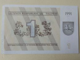 1 Tolanas 1991 - Lituania