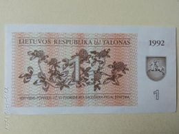 1 Tolanas 1992 - Lituanie