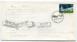 RC 6554 BRESIL 1981 75emeANNIVERSAIRE DE SON 1er VOL EN AVION 1er JOUR FDC TB - Luchtpost