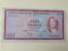 100 Francs 1963 - Luxembourg