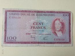 100 Francs 1963 - Lussemburgo