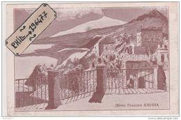 Taormina - Cpa / Hôtel Pensionne Savoia. - Altre Città