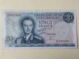 20  Francs 1966 - Luxemburg