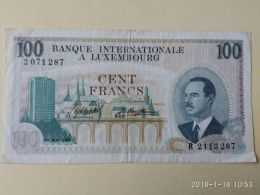 100  Francs 1968 - Luxembourg