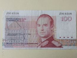 100  Francs 1986 - Luxembourg