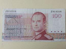 100  Francs 1986 - Lussemburgo