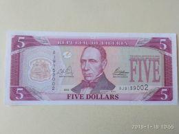 5 Dollars 2003 - Liberia